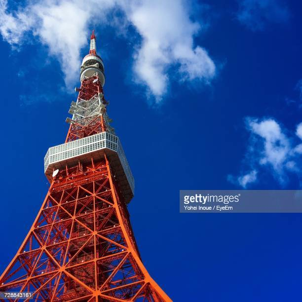 low angle view of tower - inoue stock photos and pictures