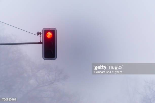 Low Angle View Of Traffic Light