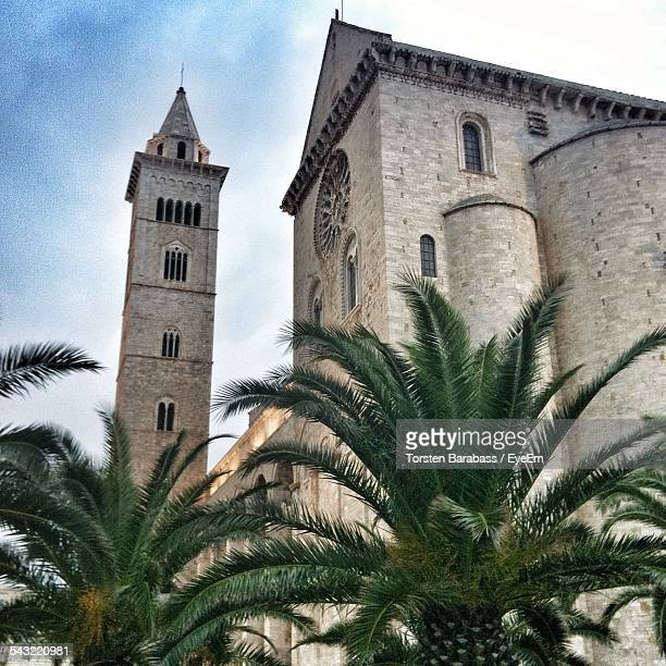 Low Angle View Of Trani Cathedral Against Sky