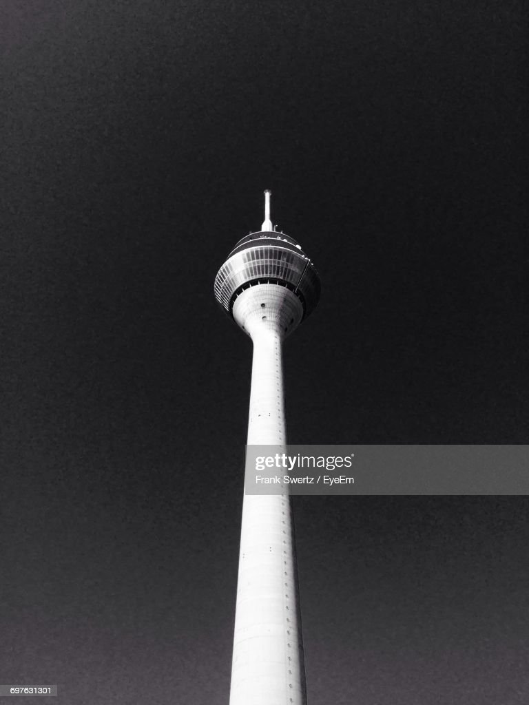 Low Angle View Of Tv Tower : Stock-Foto