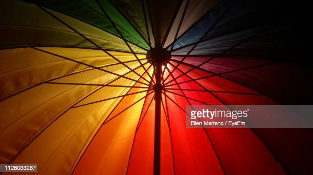 low angle view of umbrella - mertens stock pictures, royalty-free photos & images