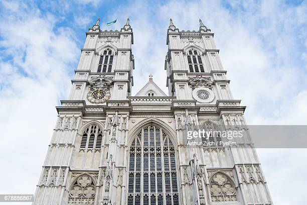 Low Angle View Of Westminster Abbey