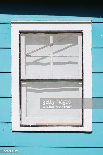 low angle view of window on building - 2007 stock pictures, royalty-free photos & images