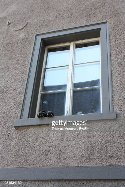 low angle view of window - mertens stock pictures, royalty-free photos & images