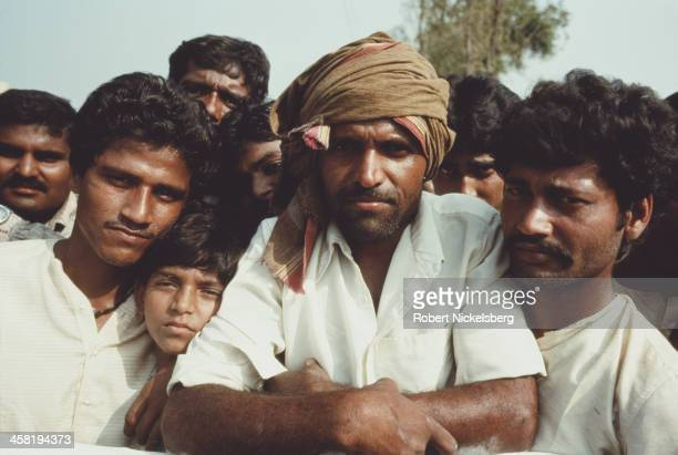 A low caste demonstration in Bihar India 1991
