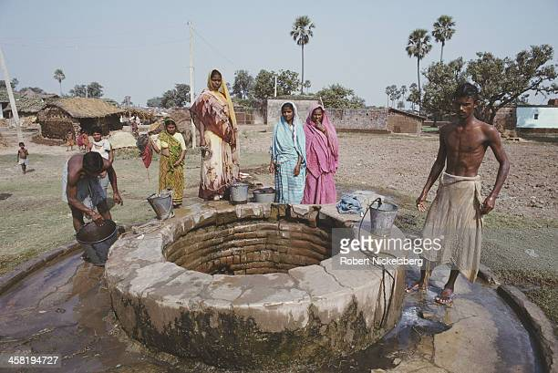 Low caste people in Bihar India 9th November 1991