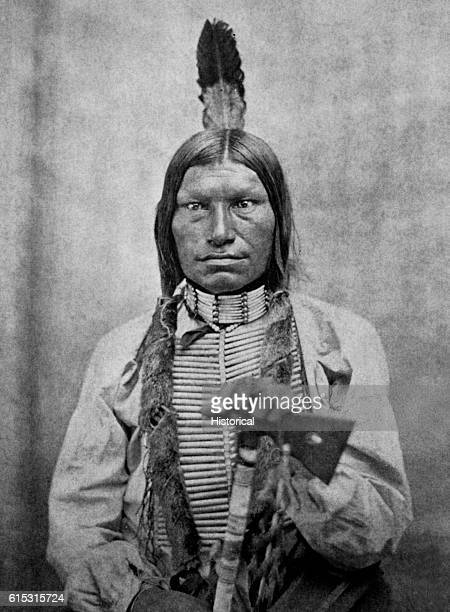 Low Dog was one of the fighting chiefs of the Sioux at the Battle of Little Big Horn