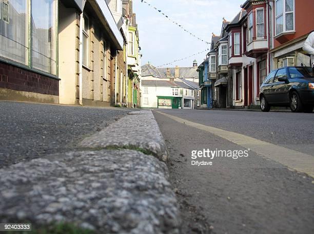 Low Down: Gutter Level Street Scene