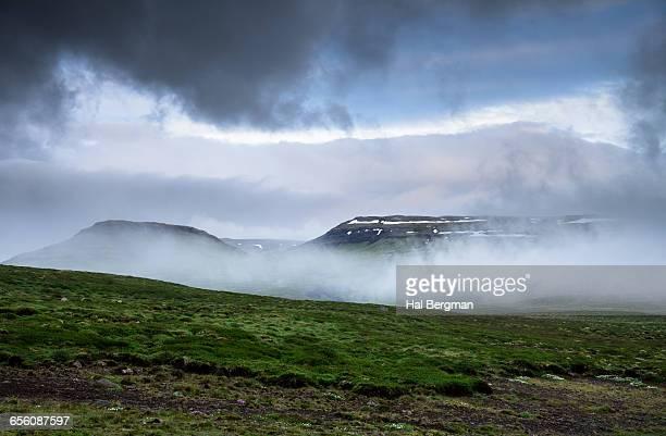 Low Fog on Snaefellsnes Peninsula
