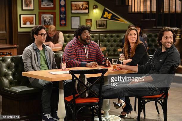 UNDATEABLE Low Hanging Fruit Episode 108 Pictured Rick Glassman as Burski Ron Funches as Shelly Bianca Kajlich as Leslie Chris D'Elia as Danny