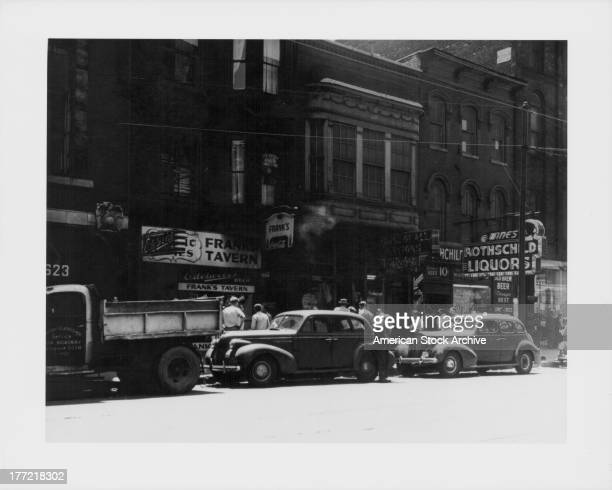 A low income area or skid row on the South Side Chicago Illinois circa 19301945