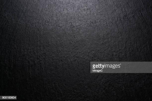 Low Lighting Black Slate Texture