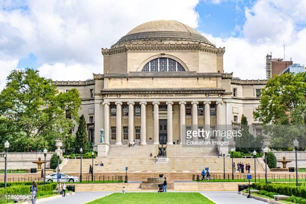 Low Memorial Library, Columbia University, New York City, New York, USA.