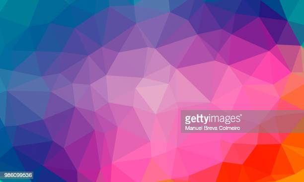 low poly background - low poly modelling stock pictures, royalty-free photos & images