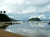 low tide Corong Corong Philippines
