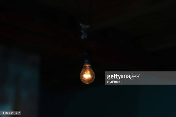 Low Voltage in rural areas creates problem for the residents in Kashmir Valley India on 14 June 2014