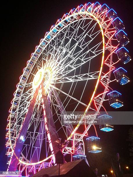 Low-Angle View Of Ferris Wheel