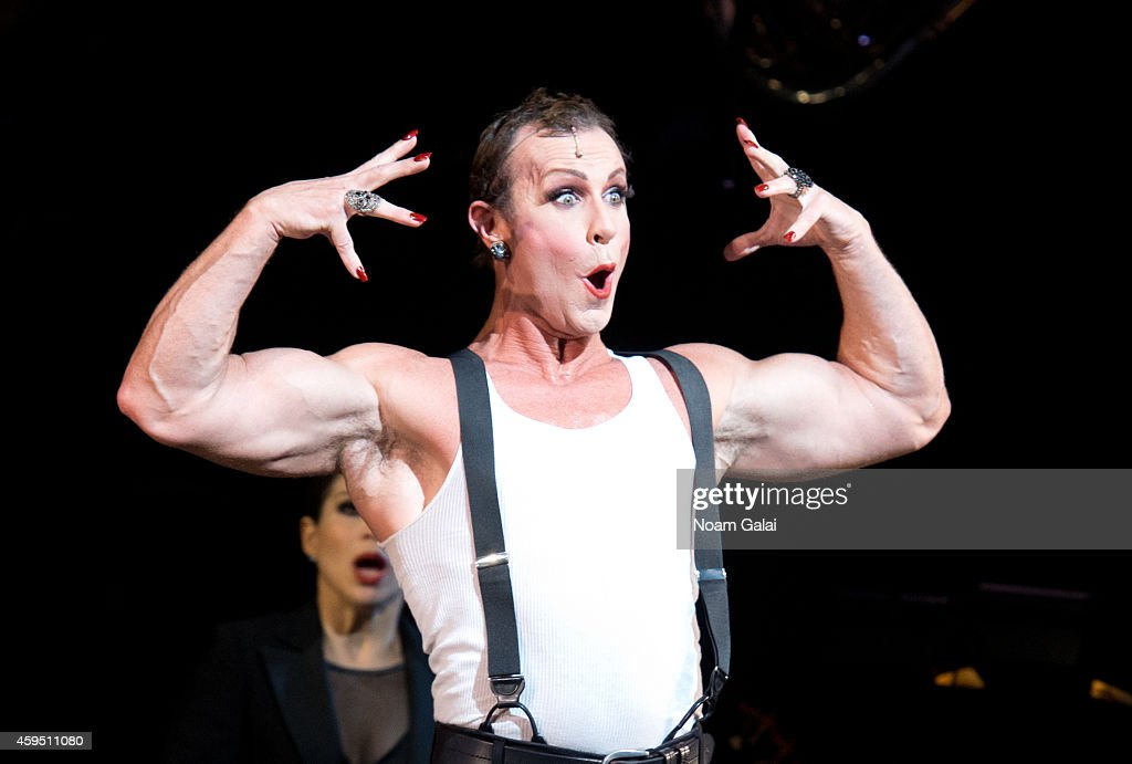 R. Lowe performs at the 7,486th performance of 'Chicago', the second longest running Broadway show of all time at Ambassador Theater on November 23, 2014 in New York City.