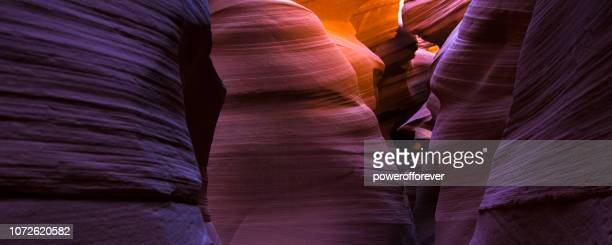 lower antelope canyon in arizona, usa - sandstone stock pictures, royalty-free photos & images