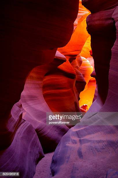 lower antelope canyon in arizona, usa - canyon stock pictures, royalty-free photos & images