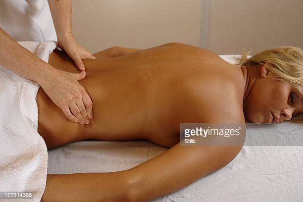 lower back massage - lower back stock pictures, royalty-free photos & images
