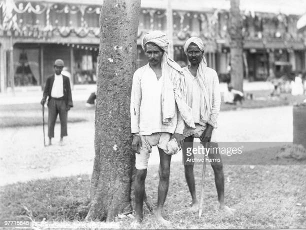 Lower caste coolies Port of Spain Trinidad