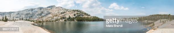 Lower Cathedral Lake, Sierra Nevada, Yosemite National Park, Cathedral Range, California, USA