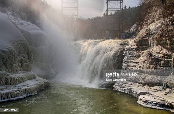 Lower Falls in Letchworth State Pakr