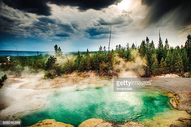 Lower Geyser Basin Yellowstone National Park
