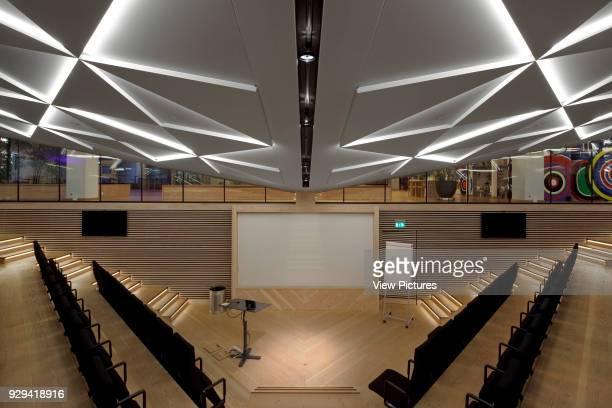 Lower ground floor auditorium IBC Innovation Factory Kolding Denmark Architect schmidt hammer lassen architects 2012