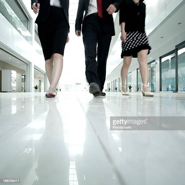 Business people Bewegungsunschärfe