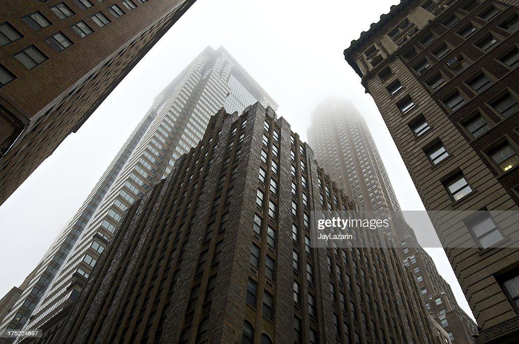 lower manhattan architectural eras styles cityscape new york city