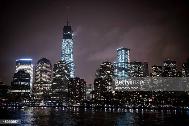 Lower Manhattan Financial District by Night - I