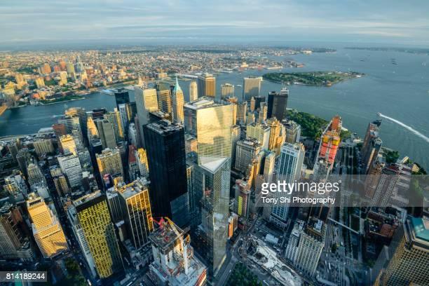 Lower Manhattan - Financial District - Skyline - New York City