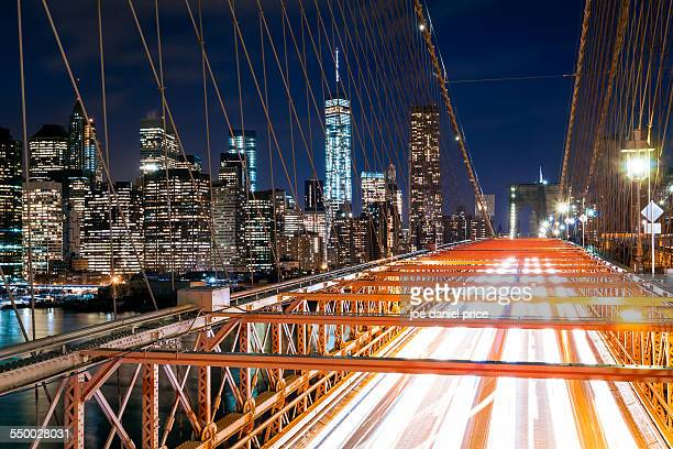 Lower Manhattan from Brooklyn Bridge, New York