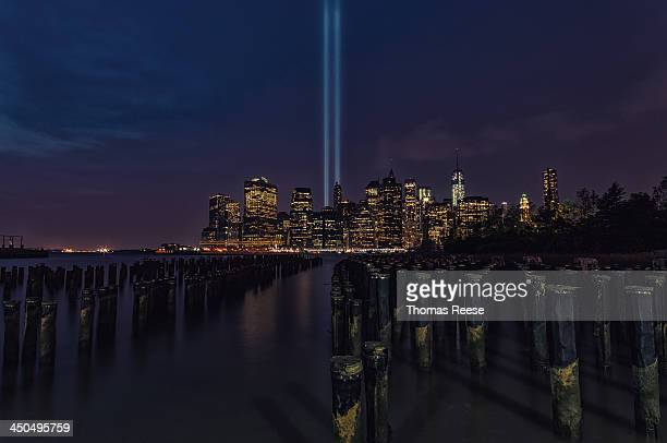 "Lower Manhattan It's been twelve years since the devastating 9/11 terrorist attacks, and as the sun goes down tonight, the ""Tribute in Light"" will..."