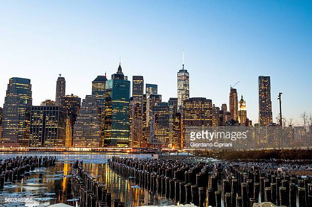 lower manhattan, new york city, new york - cipriani manhattan stock pictures, royalty-free photos & images