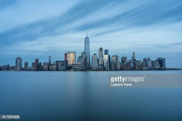 lower manhattan - new jersey stock pictures, royalty-free photos & images