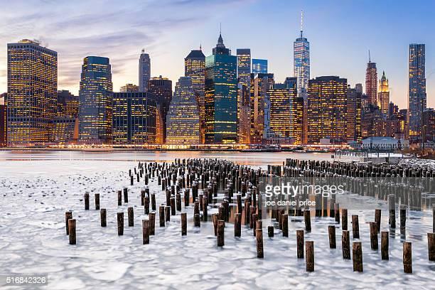 Lower Manhattan Skyline, Freedom Tower, New York City, New York, America