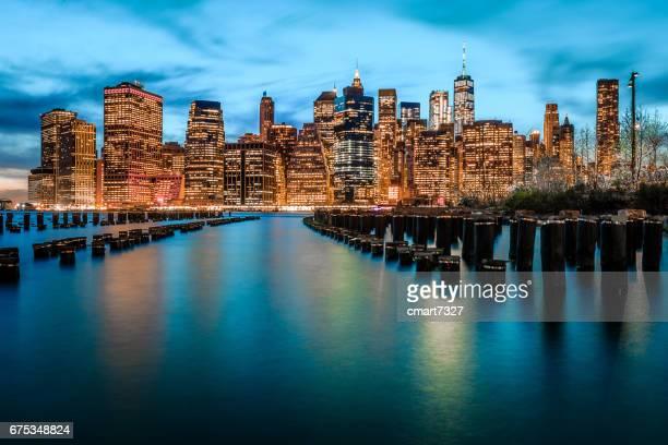 Untere Skyline von Manhattan