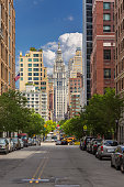 http://www.istockphoto.com/photo/lower-manhattan-with-chambers-street-and-municipal-building-in-background-battery-gm960600420-262311388