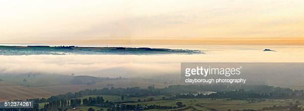 lower warfedale panoramic - オトレイ ストックフォトと画像