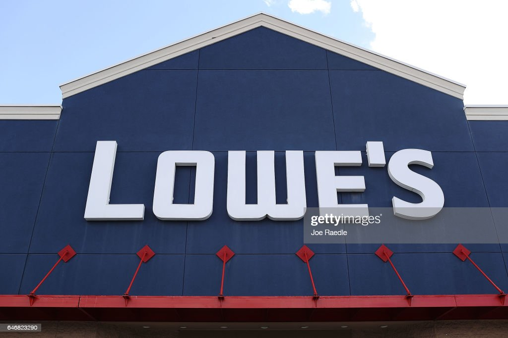 Lowe's Reports Rise In Earnings As Economy And Housing Market Strengthen : News Photo