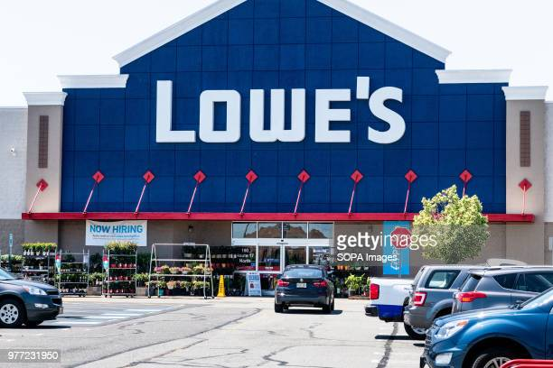 Lowe's store in East Rutherford New Jersey