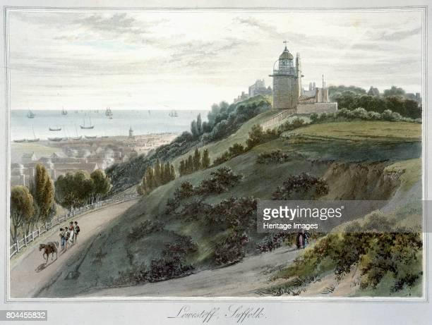 Lowestoft Suffolk' 18141825 From A Voyage Around Great Britain Undertaken between the Years 1814 and 1825 by William Daniell Artist William Daniell