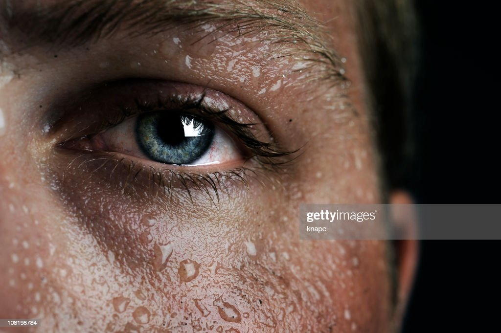 low-key eye : Stock Photo