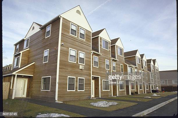 Lowpriced town houses in former school yard