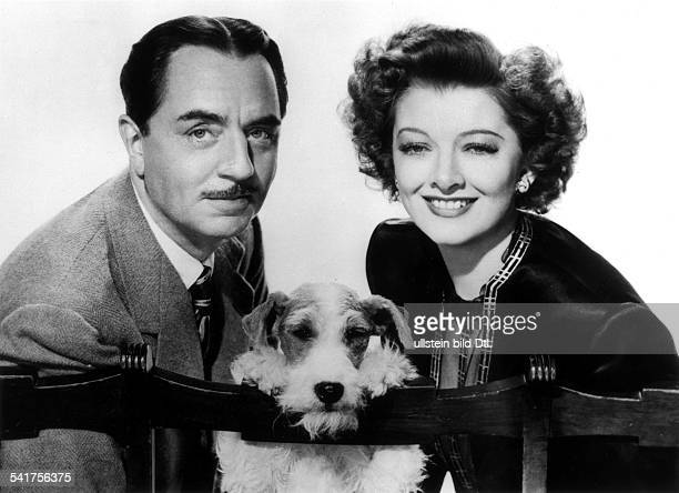 Loy Myrna Actress USA * Scene from the movie 'The Thin Man'' with William Powell Directed by WS Van Dyke USA 1934 Produced by MetroGoldwynMayer...