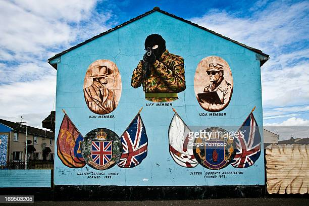 CONTENT] Loyal wall mural in Shankill Rd Belfast West