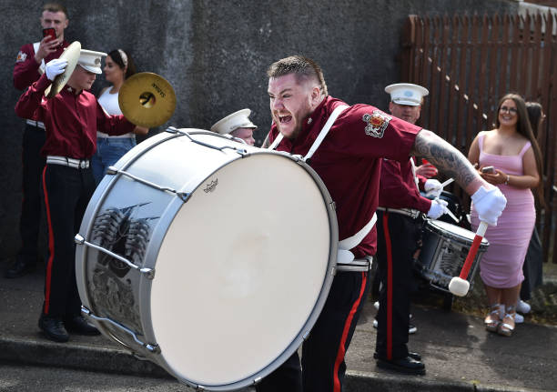 GBR: Twelfth Of July Parades Continue Despite Limits On Gatherings